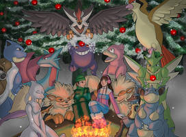 Pokemon - By The Fire by Vaporeon249