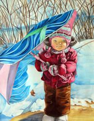 Snow Belle by Ingridda
