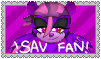 Savana The Panther Fan Stamp by S-A-V-A-N-A