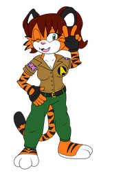 Carly Tigress Comm by S-A-V-A-N-A