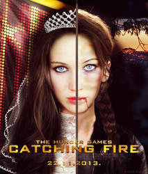 Catching Fire Poster by BBfashion