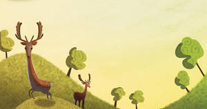 Deers by CeyhunSen