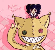 Anise and Tokunaga by nekofoot