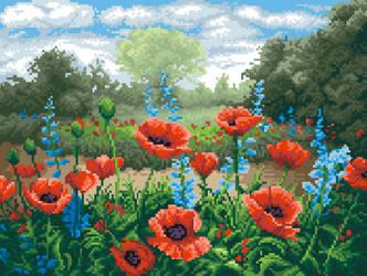 Poppies by PixelFreya