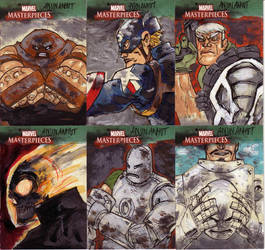 marvel sketchcards III 3 by anjinanhut