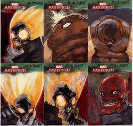 marvel sketchcards III 6 by anjinanhut