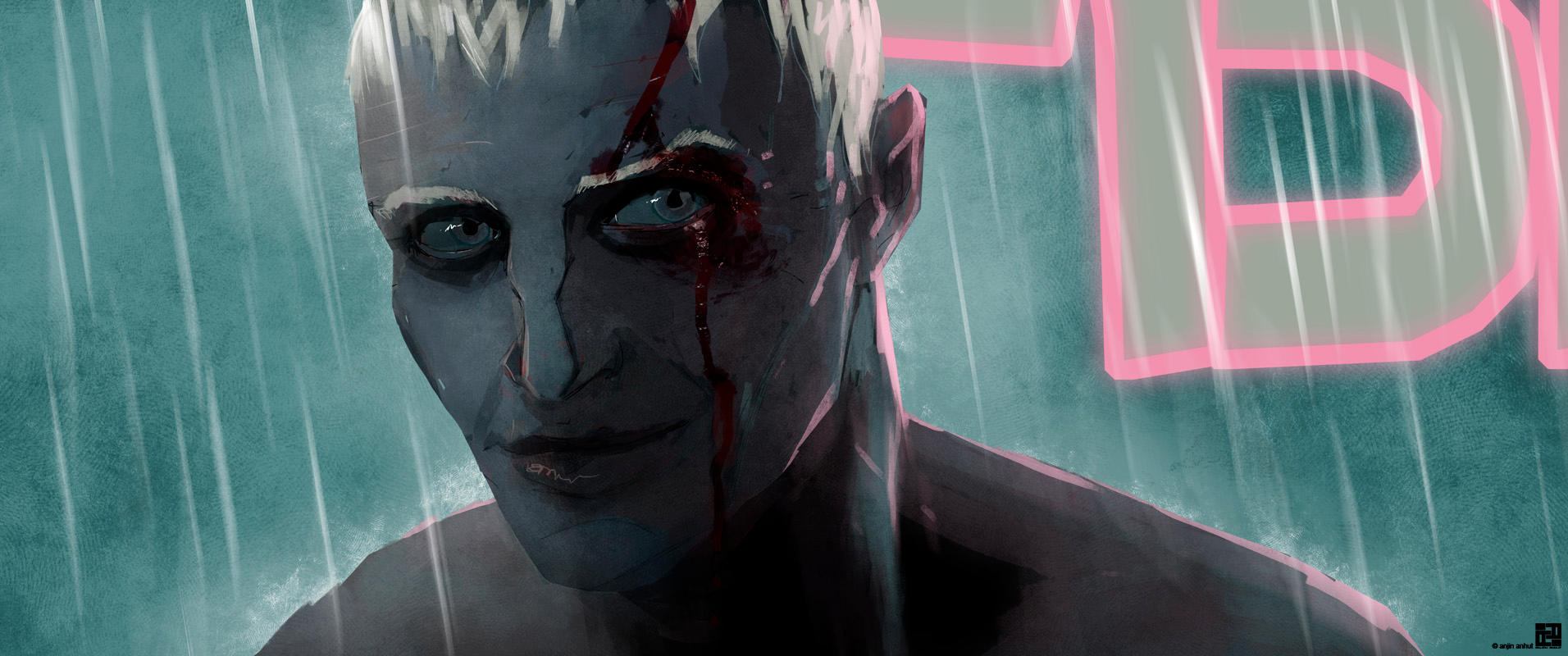 time to die, roy batty by anjinanhut