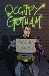 Occupy Gotham by anjinanhut