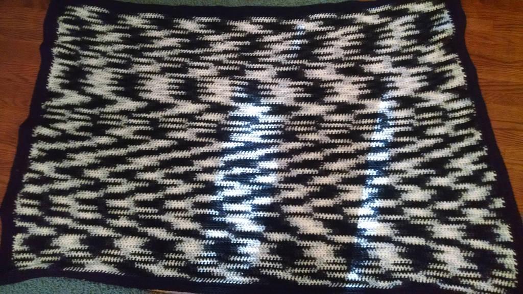 Zebra Blanket by KittySib