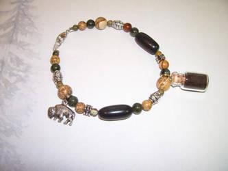 Buffalo Spirit Totem Charm Bracelet by DaybreaksDawn