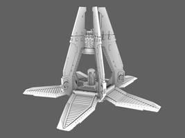Drop pod open Propeller WIP by 3DPad