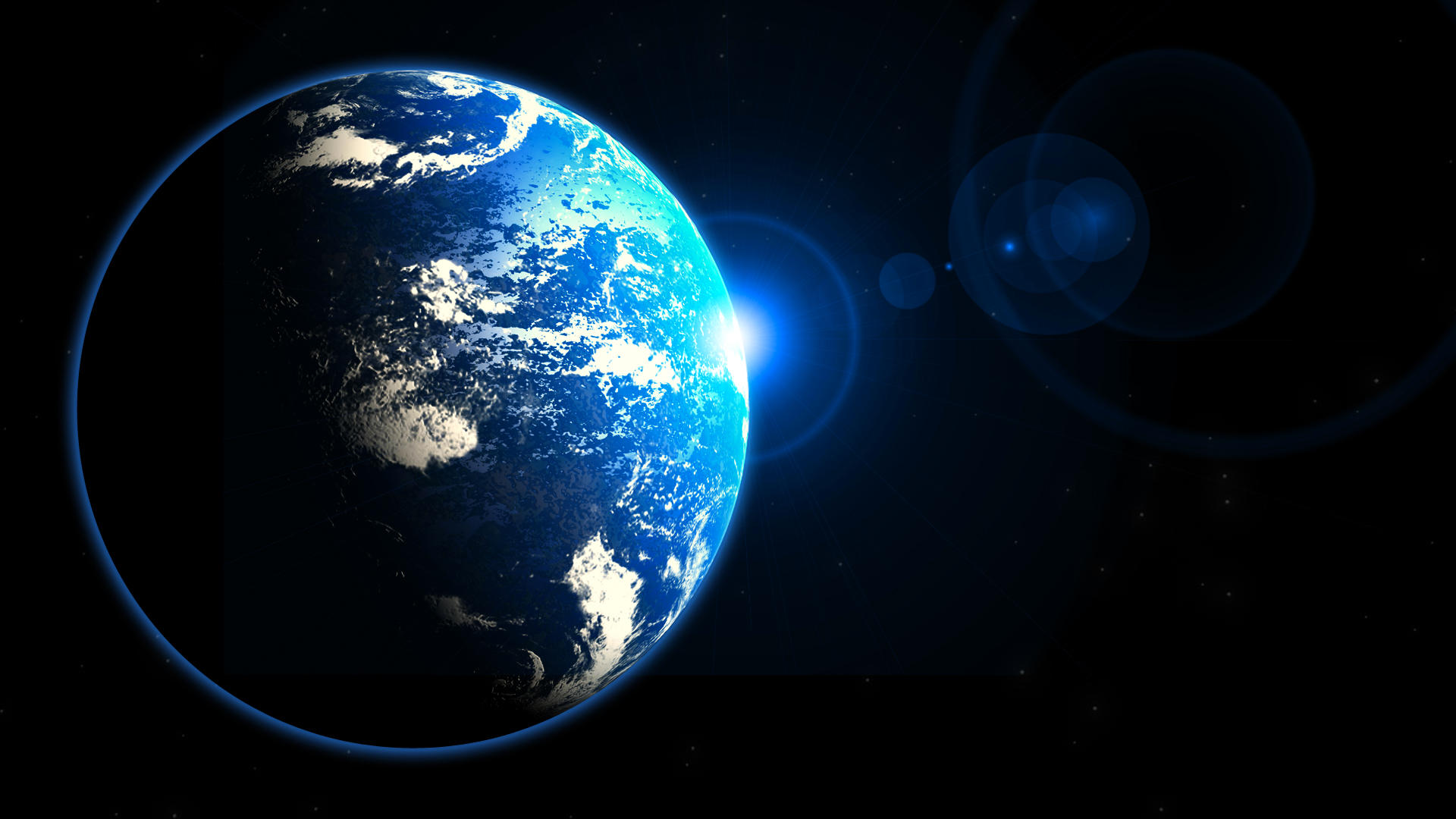 Planet Scene by 3DPad