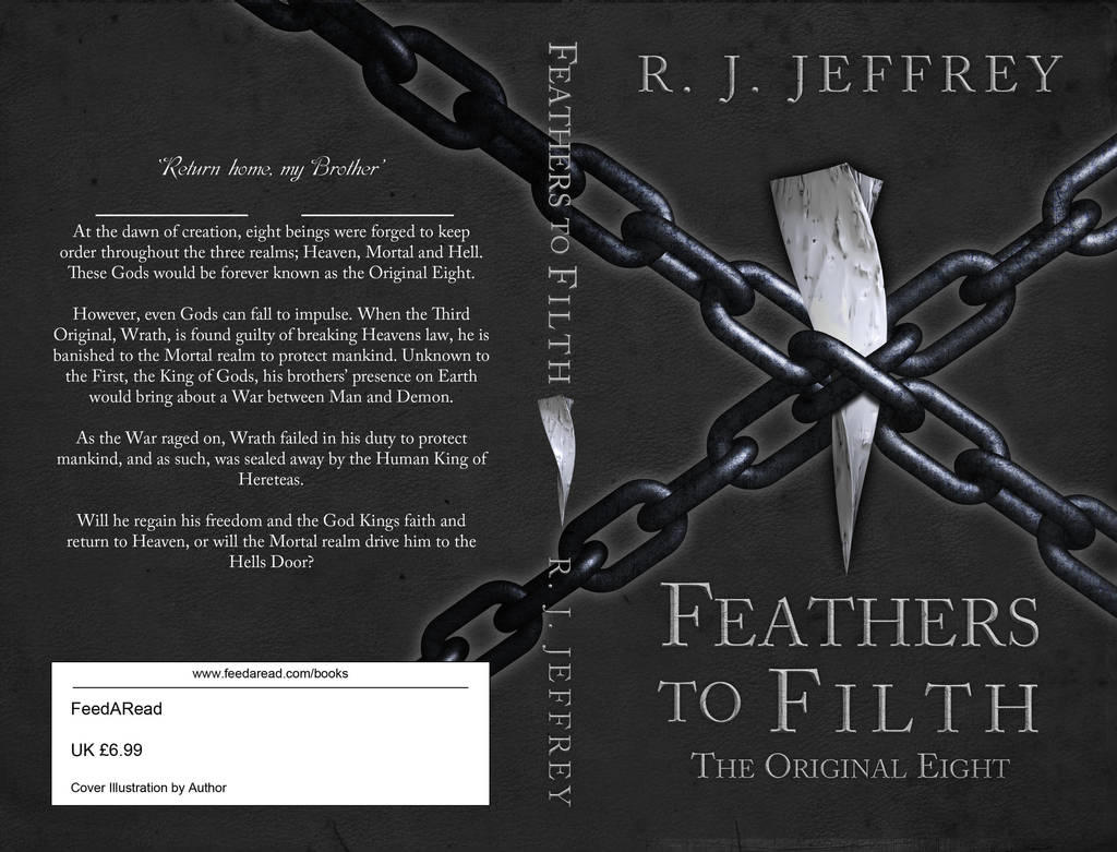 Feathers to Filth - The Original Eight - Book cove by 3DPad