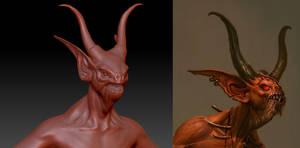 Diablo 3 - Fallen Shaman WIP by 3DPad