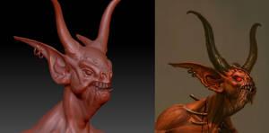 Diablo 3 - Fallen Shaman WIP 2 by 3DPad