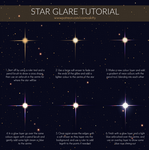 Star Glare Tutorial by CosmosKitty
