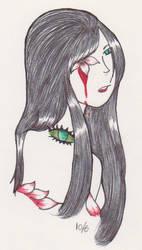 Flower Girl by mirror-alchemist
