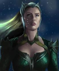 Aquawoman - Amber Heard by SmallTitan