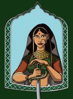 Women Warriors: Queen Padmini by KelciD