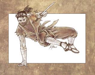 Danimaru the Ninja by shisleya