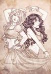 Comm: Fealisen and Fanaa by shisleya