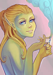 High Elf by Lolilith