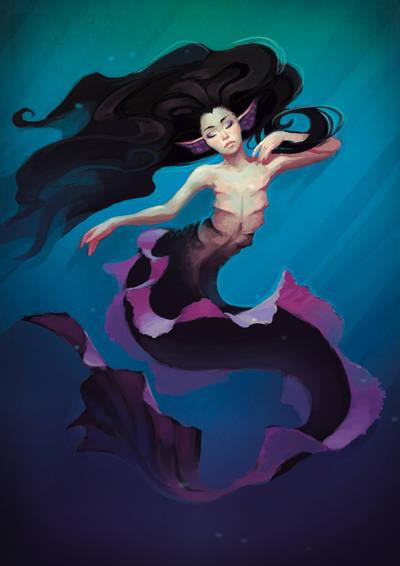 Mermaid by Lolilith
