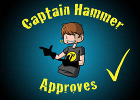 Captain Hammer Approves by gwingangel