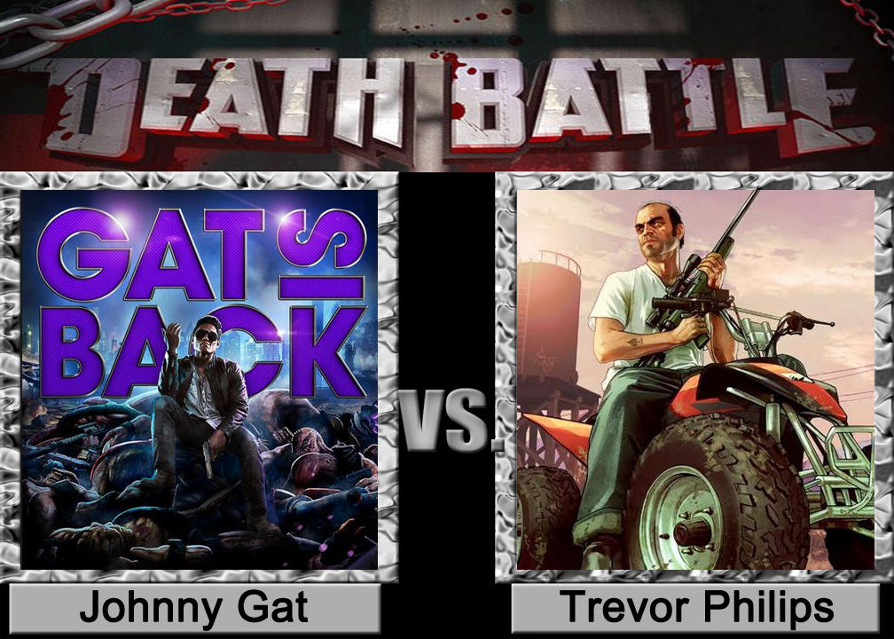 Johnny Gat Vs Trevor Philips By Czproductions On Deviantart