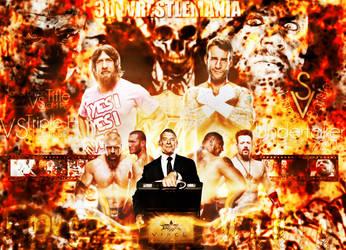 Wrestlemania 30 Wallpaper by JoKeRWord