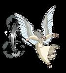 Winged Aidan by WhiteFangKakashi300