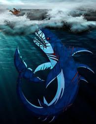 Beware of the Leviathan by WhiteFangKakashi300