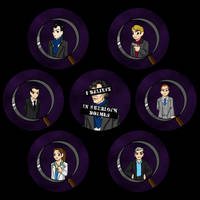 Sherlock Buttons by JesIdres