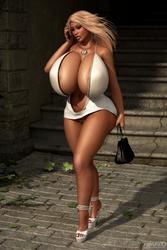 Gabrielle 007 by kalevra3D
