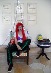 Hipster Ariel: VINYL IS SUPERIOR! [2] by BabiM