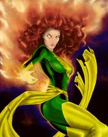 Jean Grey - The Phoenix of Effort by JacqueMatt