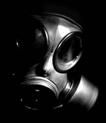 gasmask by phobosgrafei