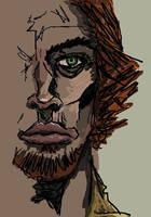 Quick portrait by tanis