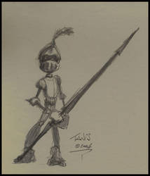 Knight by tanis
