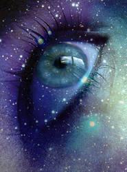 Cosmic Eye by morgiepuff