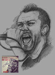 Tim Mcilrath of Rise Against by Sabriiistrash