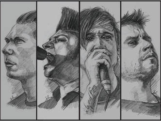 Billy Talent by Sabriiistrash