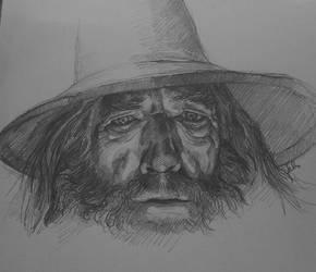 Gandalf by Sabriiistrash