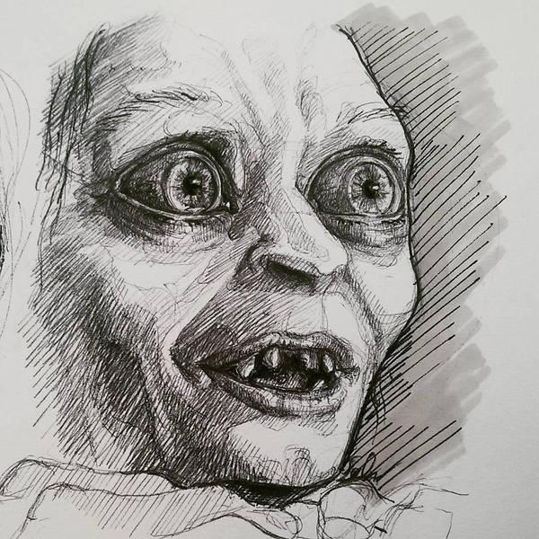 Gollum by Sabriiistrash