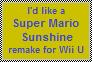 Super Mario Sunshine for Wii U by FluffyFerret97