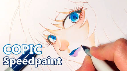 COPIC speedpaint by kyara17