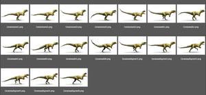Animation Study: Ceratosaurus by Zainy7