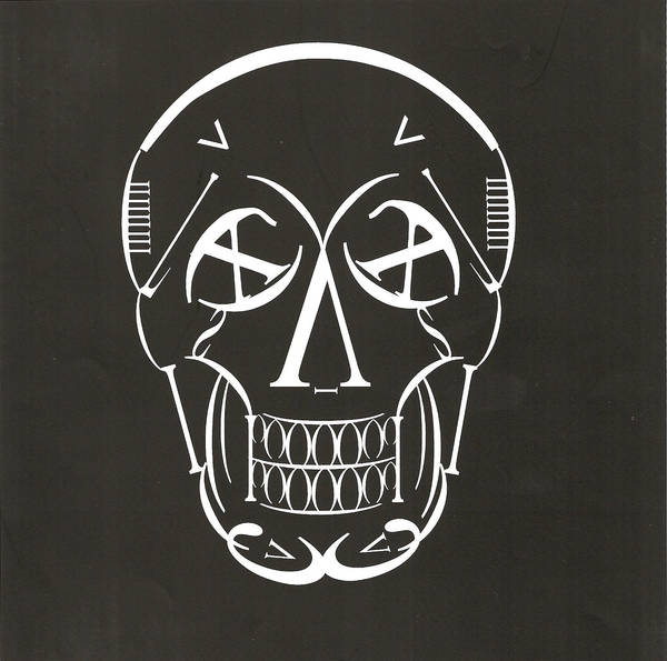 Skull in Type by Koh-Jung-Hwa