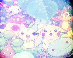 Pokemon wallpaper (Number 2) by Viciousdope