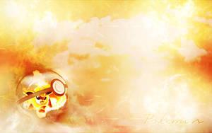 Pokemon wallpaper - Flareon by Viciousdope